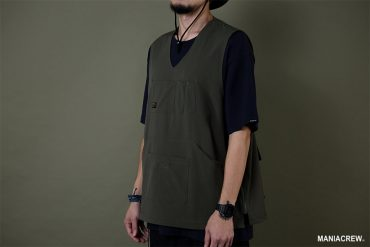 MANIA 19 AW Resiliently Zip Vest (3)