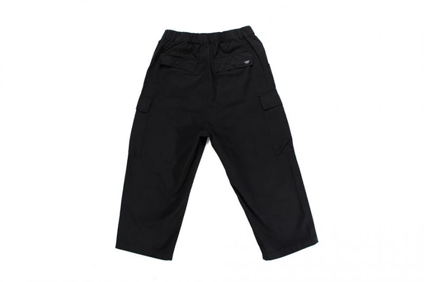 NextMobRiot 19 AW Wide Cropped Pocket Pants (11)