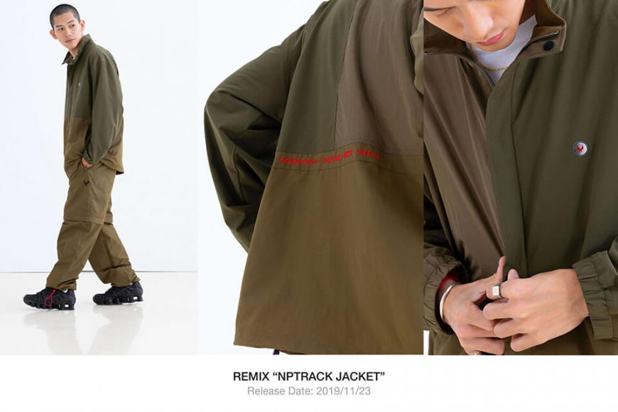 REMIX 19 AW 3 Tone Jacket (1)
