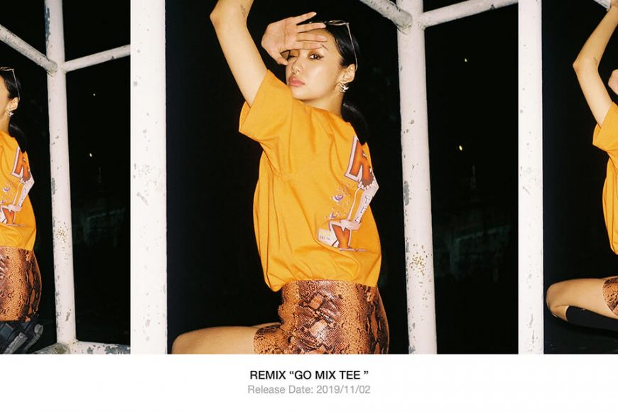 REMIX 19 AW Go Mix Tee (1)