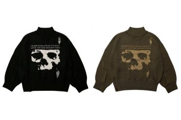 AES 19 AW Skull Oversized Knit Sweater (2)