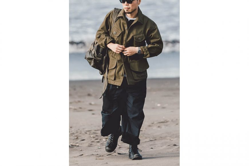 B-SIDE 19 AW CND ARMY Field Jacket (5)