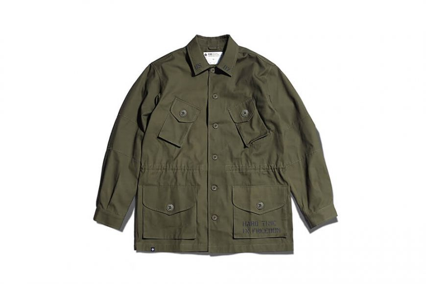 B-SIDE 19 AW CND ARMY Field Jacket (6)