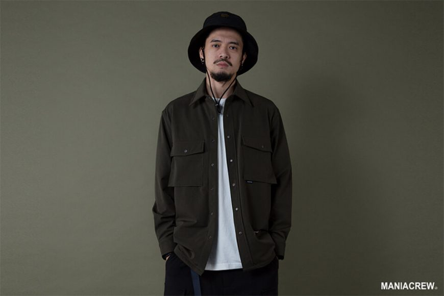 MANIA 19 AW Big Pocket Shirt (10)