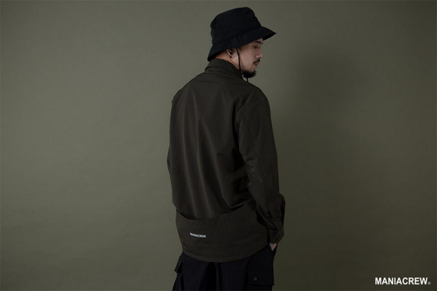 MANIA 19 AW Big Pocket Shirt (11)