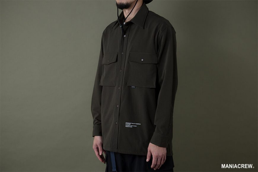 MANIA 19 AW Big Pocket Shirt (12)