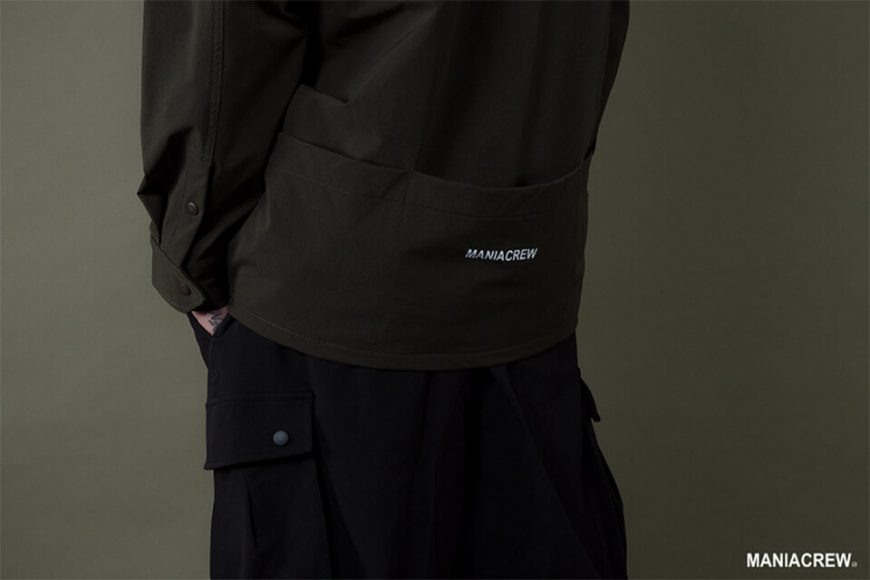 MANIA 19 AW Big Pocket Shirt (14)