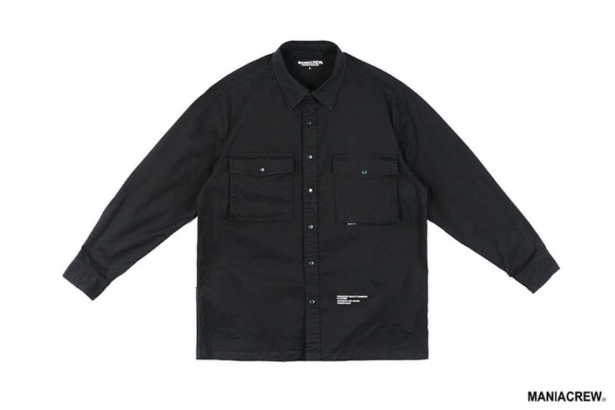 MANIA 19 AW Big Pocket Shirt (15)