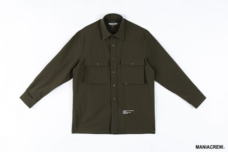MANIA 19 AW Big Pocket Shirt (17)