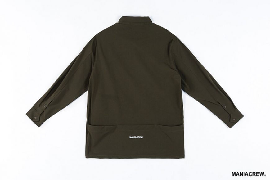 MANIA 19 AW Big Pocket Shirt (18)