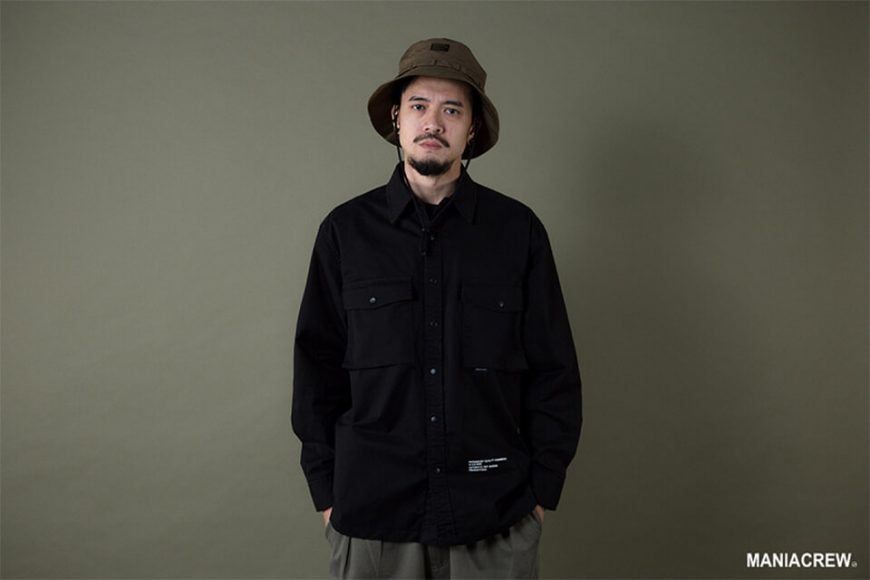 MANIA 19 AW Big Pocket Shirt (2)
