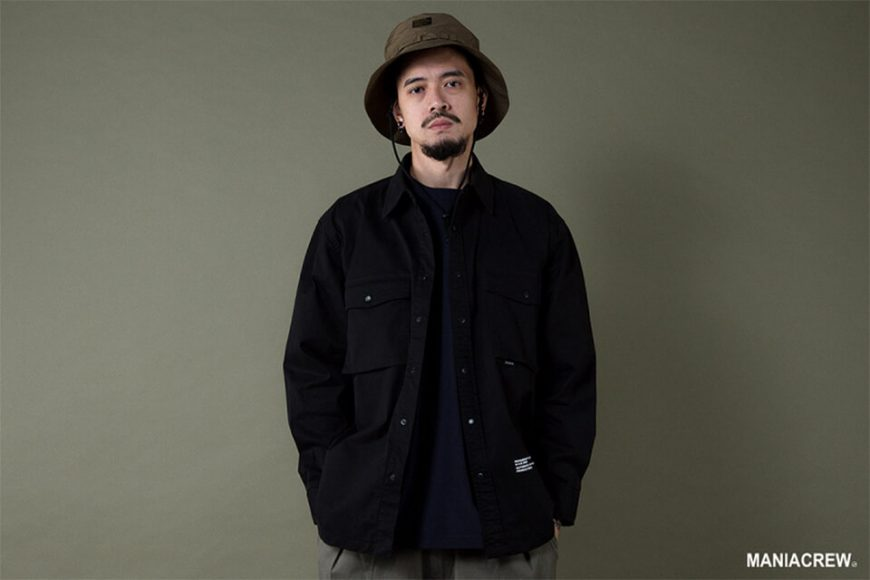 MANIA 19 AW Big Pocket Shirt (3)