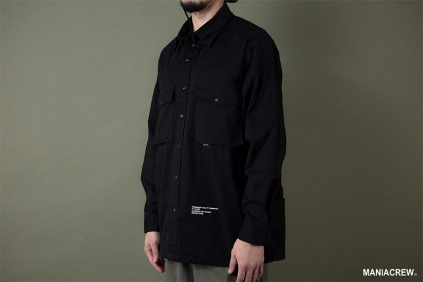 MANIA 19 AW Big Pocket Shirt (5)