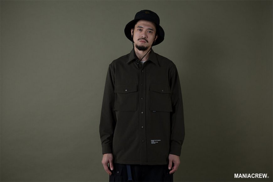 MANIA 19 AW Big Pocket Shirt (9)