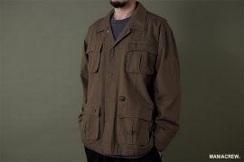 MANIA 19 AW Military Pocket Shirt (11)