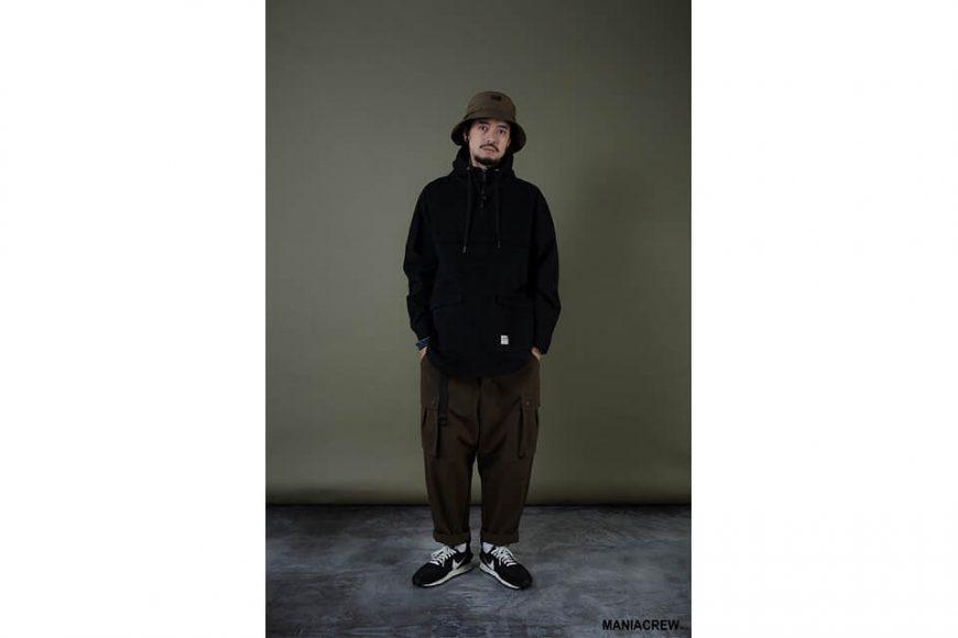 MANIA 19 AW Neck Zip Pullover (1)