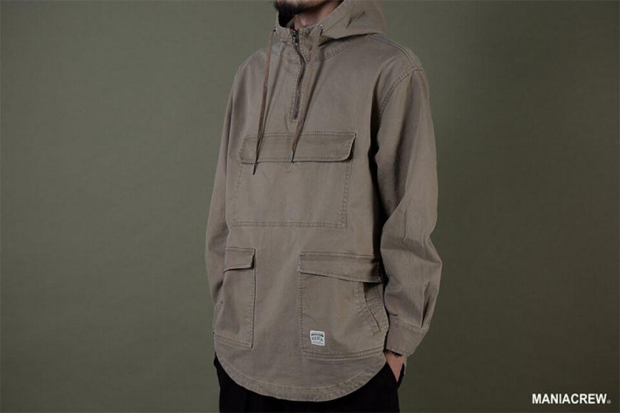 MANIA 19 AW Neck Zip Pullover (10)