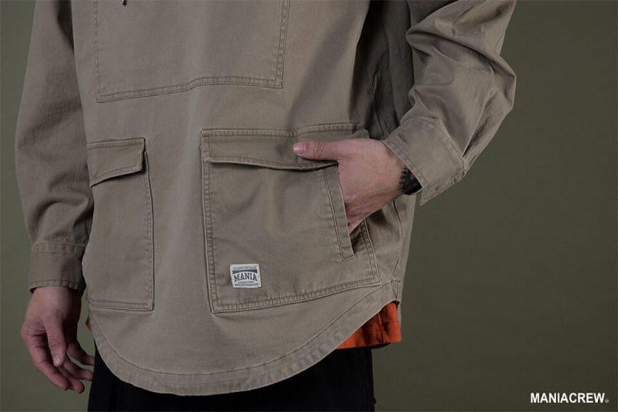 MANIA 19 AW Neck Zip Pullover (11)