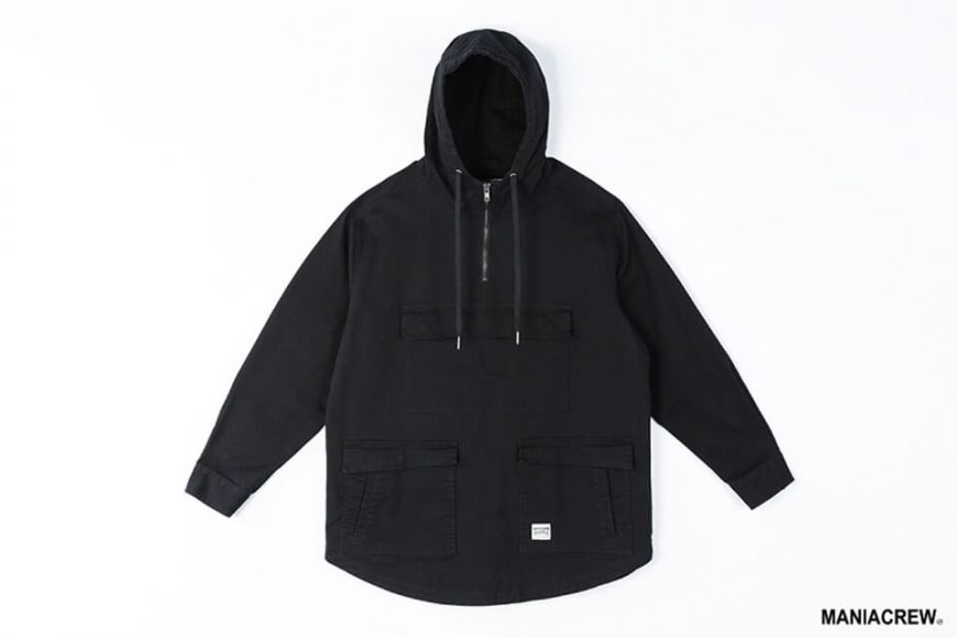 MANIA 19 AW Neck Zip Pullover (13)