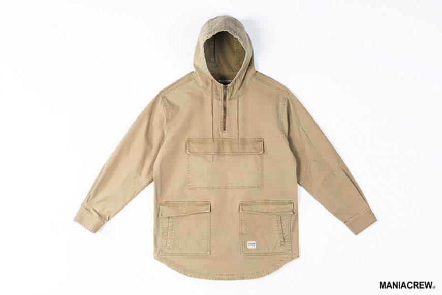 MANIA 19 AW Neck Zip Pullover (14)