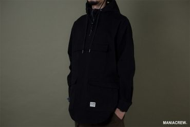 MANIA 19 AW Neck Zip Pullover (4)