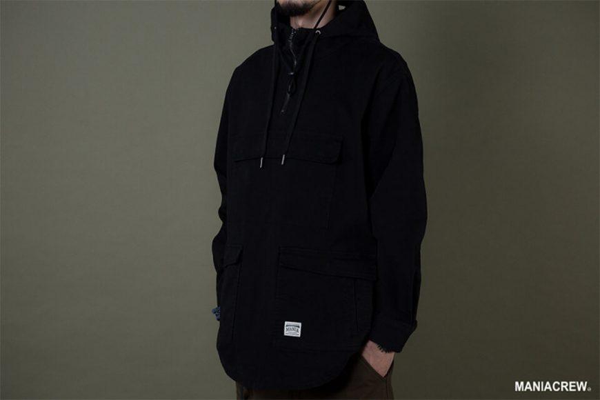 MANIA 19 AW Neck Zip Pullover (4)