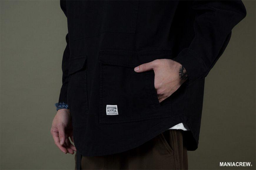MANIA 19 AW Neck Zip Pullover (5)