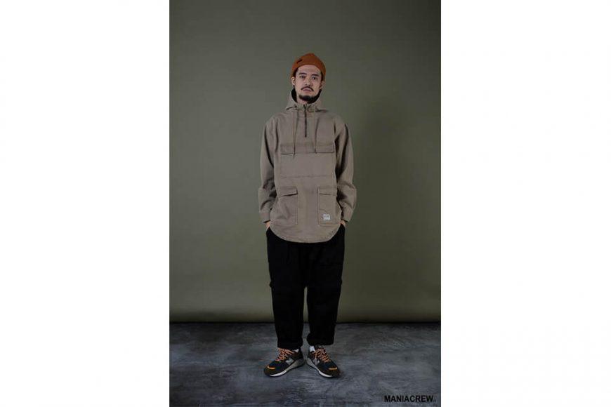 MANIA 19 AW Neck Zip Pullover (7)