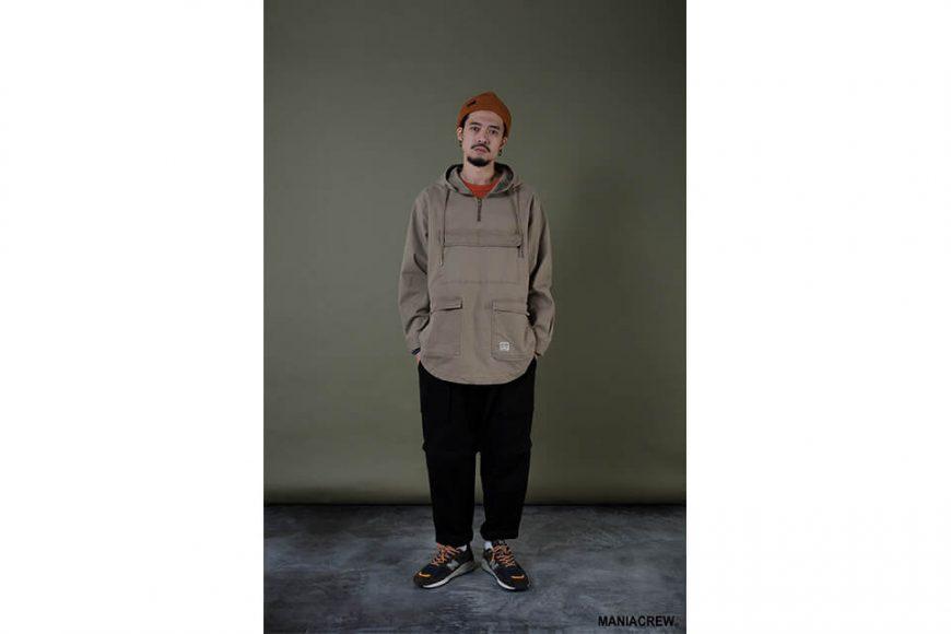 MANIA 19 AW Neck Zip Pullover (8)