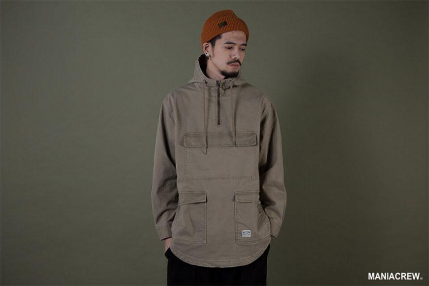 MANIA 19 AW Neck Zip Pullover (9)