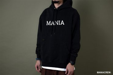 MANIA 19 AW Scrip Hoodie (3)