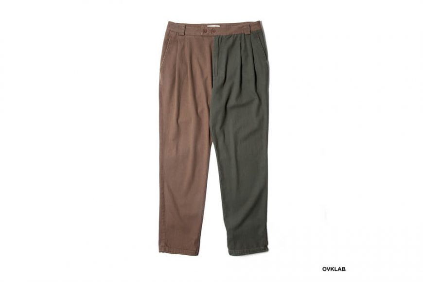 OVKLAB 19 AW Two Tone Tapered Pants (4)