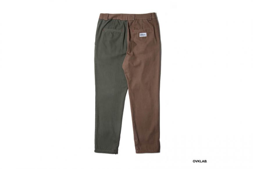 OVKLAB 19 AW Two Tone Tapered Pants (5)