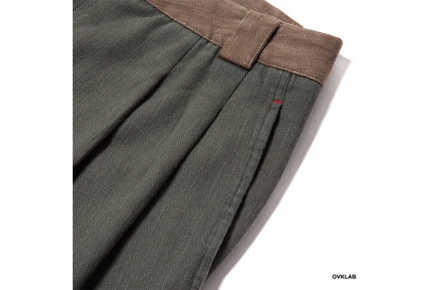 OVKLAB 19 AW Two Tone Tapered Pants (7)