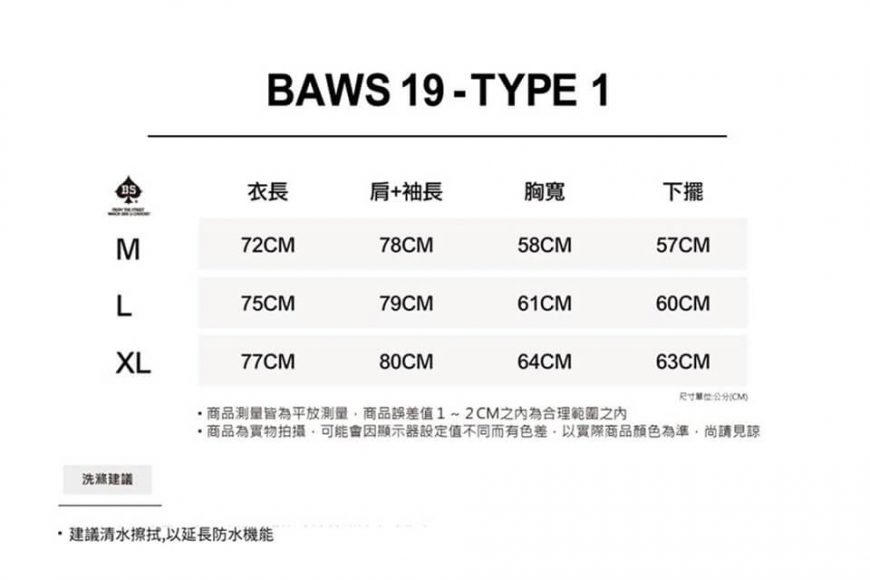 B-SIDE 19 AW BAWS 19 Type-1-2 (25)