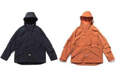 B-SIDE 19 AW Military Waterproof JKT (6)