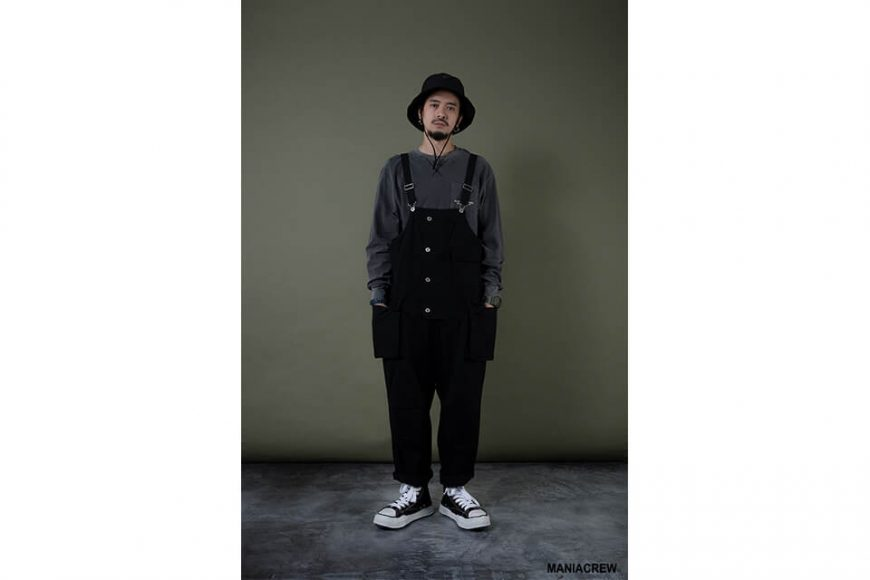 MANIA 19 AW Washed Overalls (1)