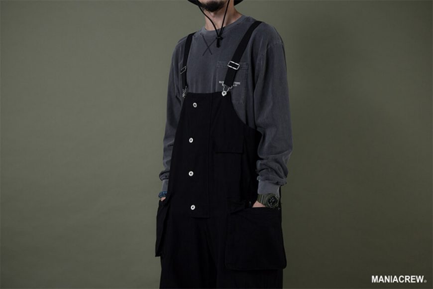 MANIA 19 AW Washed Overalls (3)