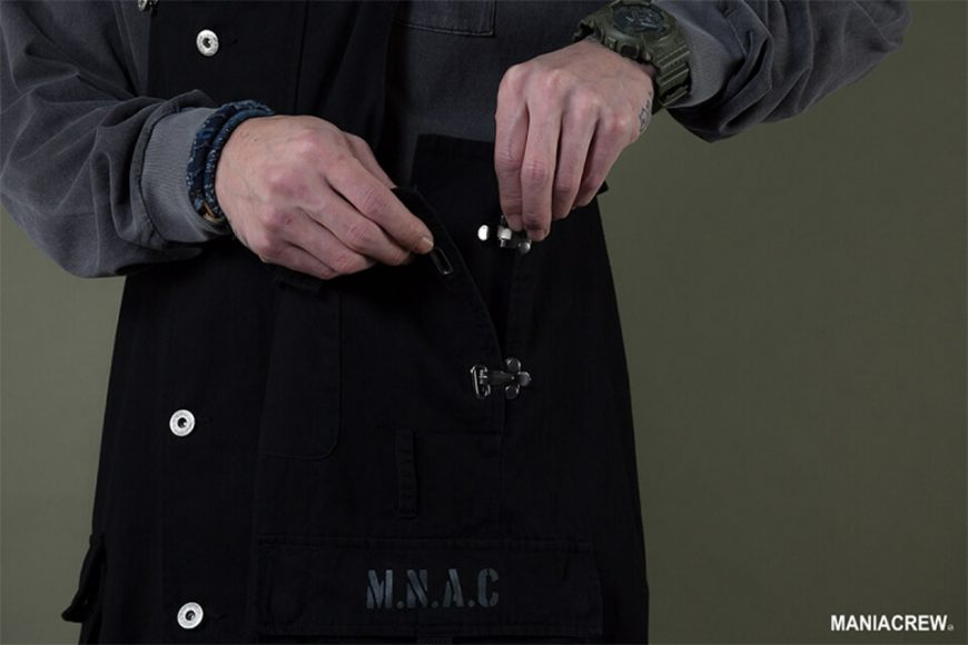 MANIA 19 AW Washed Overalls (5)