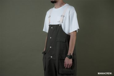 MANIA 19 AW Washed Overalls (8)