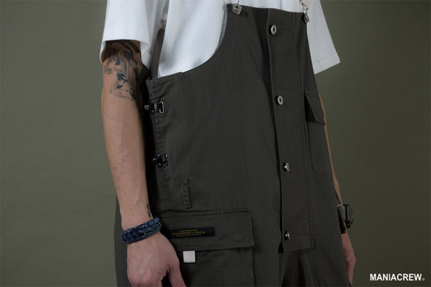 MANIA 19 AW Washed Overalls (9)