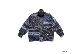 OVKLAB 19 AW Reversible Paisley Pattern Jacket (6)