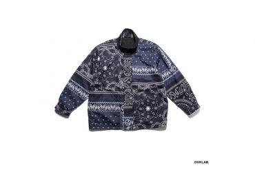 OVKLAB 19 AW Reversible Paisley Pattern Jacket (6)