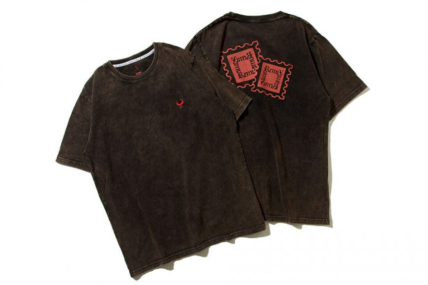 REMIX 19 AW Stamp Bleached Tee (1)