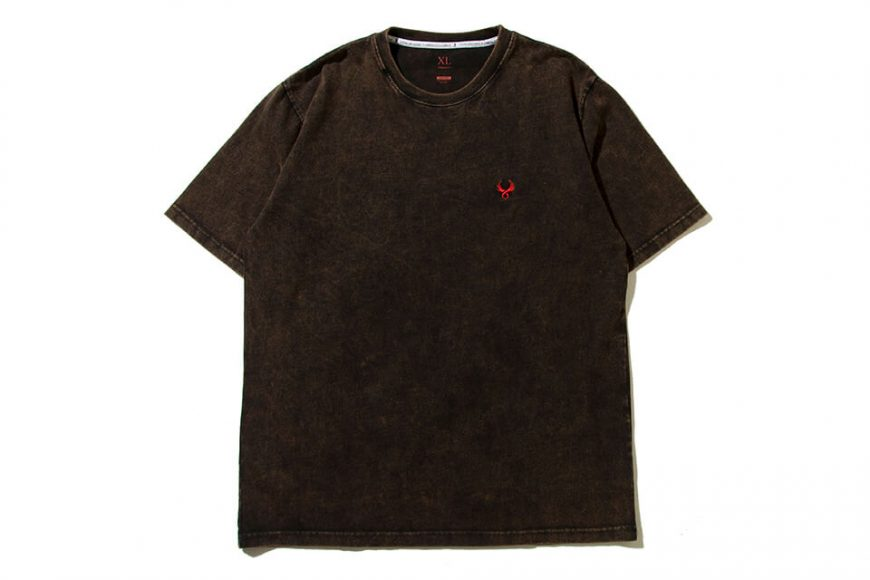 REMIX 19 AW Stamp Bleached Tee (2)