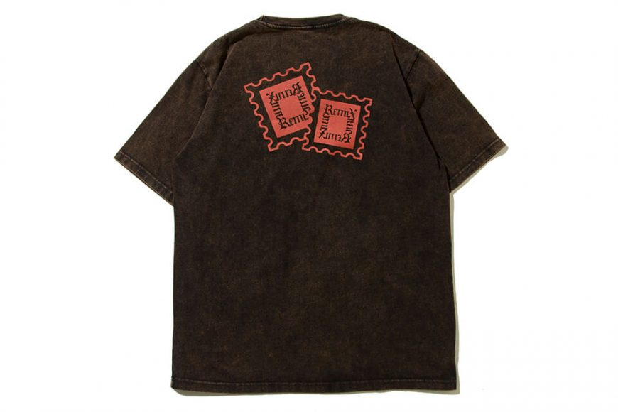 REMIX 19 AW Stamp Bleached Tee (3)