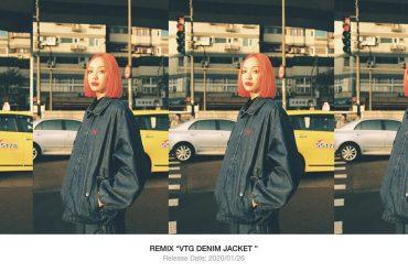 REMIX 19 AW VTG Denim Jacket (1)