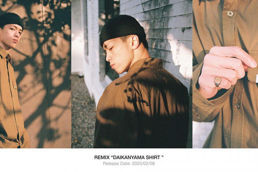 REMIX 19 AW Daikanyama Shirt (1)