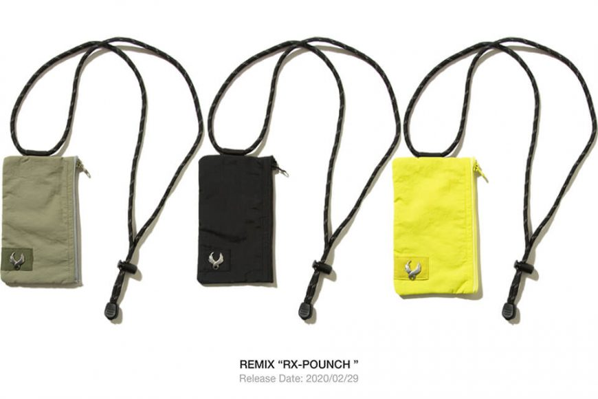 REMIX 19 AW R-X Pouch (1)