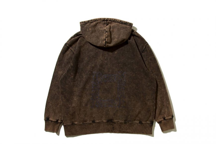 REMIX 19 AW Stamp Bleached Hoody (8)